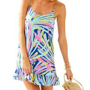 Lilly Pulitzer Indigo Sea Dreamin Zanna Silk Dress